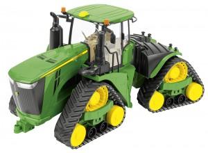 Pásový traktor John Deere 9620RX, model v mierke 1:16