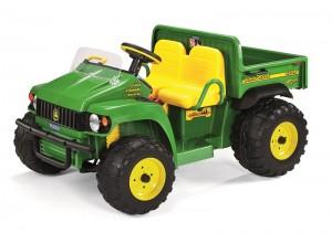 Dvojmiestny John Deere HPX Gator, detská elektrická štvorkolka