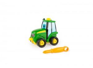 Malý rozoberateľný detský traktor John Deere