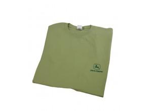 Jednoduché tričko John Deere v svetlozelenej farbe