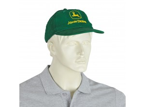 Čiapka John Deere, šiltovka v zelenej farbe