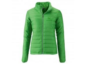 Dámska prešívaná bunda John Deere v zelenej farbe