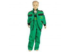 Detský pracovný odev John Deere, nohavice s trakmi