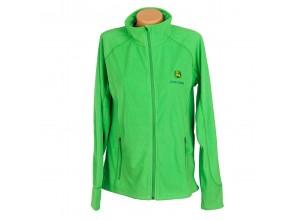 Dámska fleecová bunda John Deere  v zelenej farbe