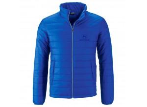 Pánska prešívaná bunda John Deere v modrej farbe