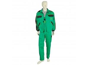 Dvojdielny pracovný odev John Deere, nohavice s trakmi
