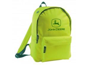 Batoh s vyšívaným logom John Deere v sviežozelenej farbe
