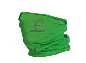 Viacúčelová šatka s logom John Deere, svetlozelená