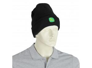 Zimná čiapka John Deere v čiernej farbe