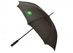 Dáždnik John Deere v čiernej farbe