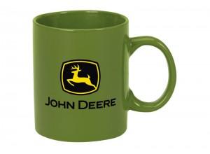 Šálka John Deere v zelenej farbe
