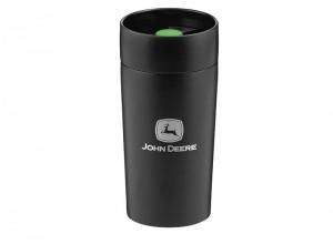 Termohrnček v čiernej farbe John Deere