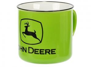 Keramický hrnček John Deere v svetlozelenej farbe