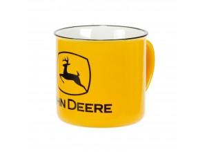 Keramický hrnček John Deere v žltej farbe