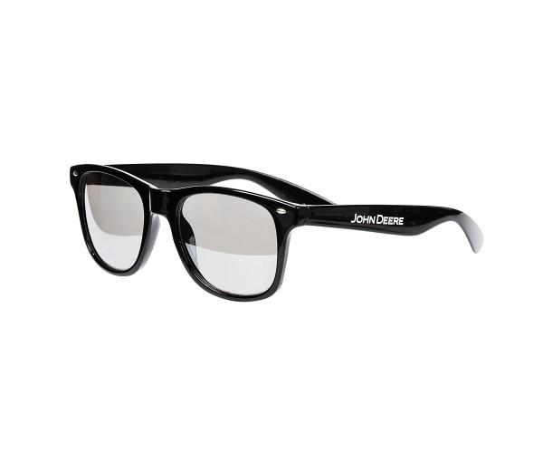 Slnečné okuliare s potlačou John Deere v čiernej farbe