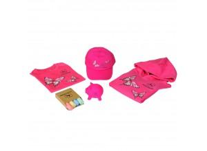 Ružový set pre dievčatá